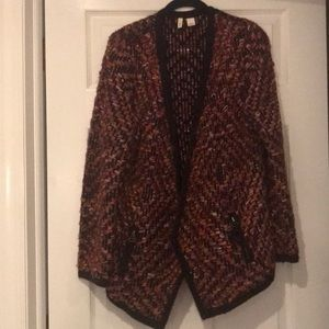 Beautiful multi color Anthropologie sweater sz Sml